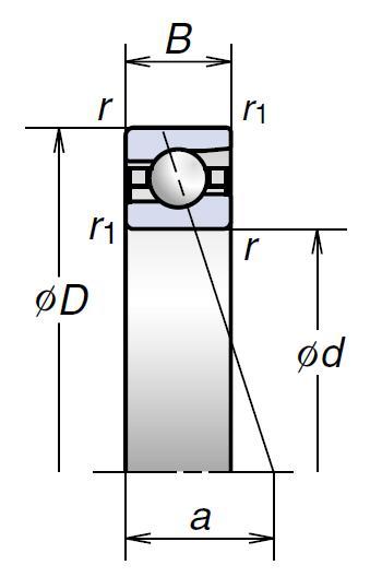 BNR高速推力角接触球轴承