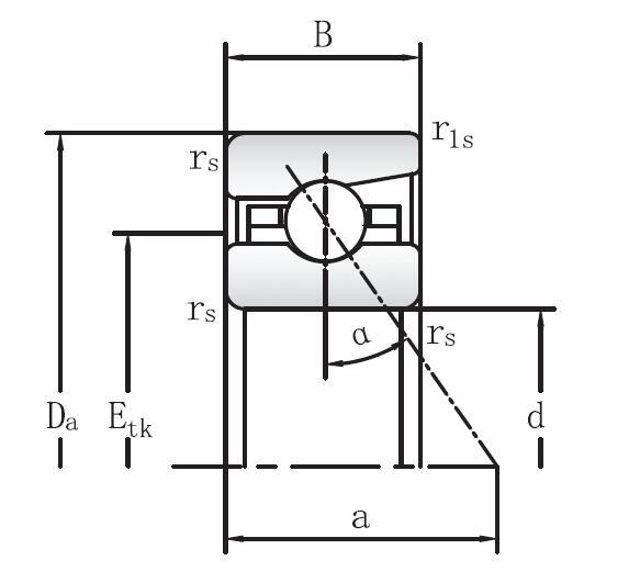 718 系列薄壁接触角球轴承