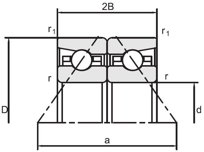 BTR高速推力角接触球轴承