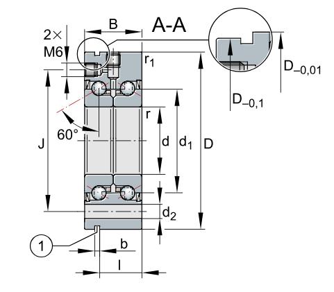 ZKLF 系列推力角接触球轴承