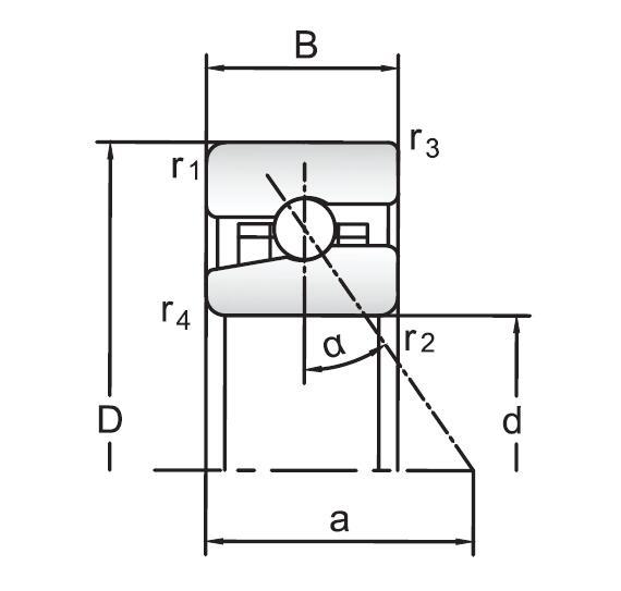 H系列高速推力角接触球轴承