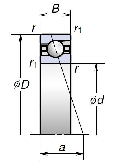 BER高速推力角接触球轴承