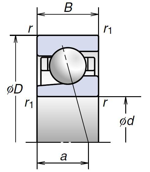 BGR高速推力角接触球轴承